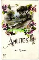 Carte Fantaisie - Amitiés De RANSART - Charleroi