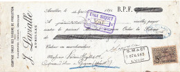 J. LAVIALLE / COURTAGE / AURILLAC  / 1894 / Timbre 5c - Wissels