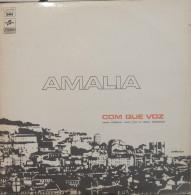 Amalia Rodrigues 33t. LP ITALIE *com Que Voz* - World Music