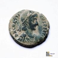 Roma - GRACIANO - Maiorina - 367/383 DC. - 8. The End Of Empire (363 AD To 476 AD)