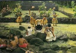 POLYNESIE FRANCAISE  Marae D'Arahurahu  Fiji Et Tahiti - Océanie