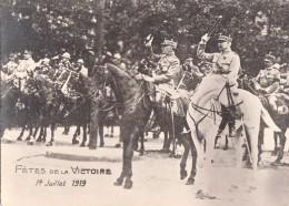 FETE DE LA VICTOIRE PARIS 14  JUILLET 1919 - Guerre 1914-18