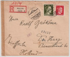 DR, 1944, Europa Tarif Als Reco , #3070 - Deutschland
