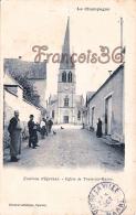 (51) Environs D'Epernay - Eglise De Tours Sur Marne - 2 SCANS - Autres Communes