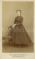 Photo / Carte De Visite / CDV / Femme / Woman / Association Photographique / Antwerpen / Dumerey / Simonis - Photographs