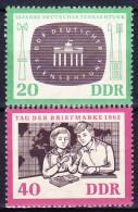 ALLEMAGNE - REP. DEMOCRATIQUE 1962 YT N° 635 Et 636 ** - Unused Stamps