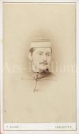 Photo / Carte De Visite / CDV / Homme / Man / Photo Fred. Ellis / Lieutenant Slye (?) / Flye (?) / Lancaster - Photos