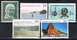 Lote De 5 Sellos AUSTRALIAN ANTARCTIC TERRITORY º - Territorio Antártico Australiano (AAT)