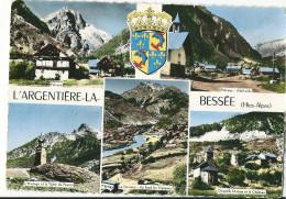 CPSM 05 L'ARGENTIERE LA BESSEE  BLASON MULTIVUES - France