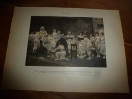 1897  Image NU N° 11 ,de Jules Garnier Pour Rabelais (dim.hors Tout 320mm X 232mm) Classé Attentatoire à La Morale - Vieux Papiers