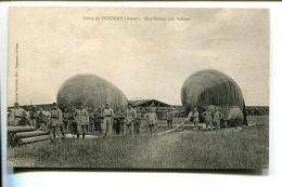THMS1 Aviation Dirigeables Camp De Sissone Gonflement Des Ballond - Dirigeables
