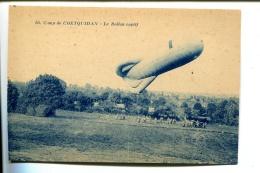 THMS1 Aviation Dirigeables Camp De Coetquidam, Le Ballon Captif - Dirigeables