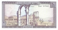 Lebanon - Pick 63 - 10 Livres 1986 - Unc - Libano