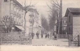 93 AULNAY Sous BOIS  Passage à Niveau Ligne De Chemin De FER Avenue De La GARE Animée - Aulnay Sous Bois