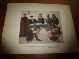1897  Image NU N° 10 ,de Jules Garnier Pour Rabelais (dim.hors Tout 320mm X 232mm) Classé Attentatoire à La Morale - Vieux Papiers