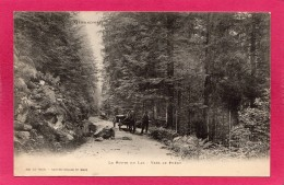 88 VOSGES, La Route Du Lac, Vers Le Phény, Animée,  (Ad. Weick, St-Dié) - France