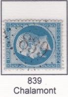 GC 839 Sur 22 - Chalamont (1 Ain) - 1849-1876: Periodo Classico