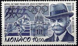 MONACO Jeux Olympiques. Yvert N° 1853. ** MNH.  PIERRE DE COUBERTIN - Summer 1992: Barcelona