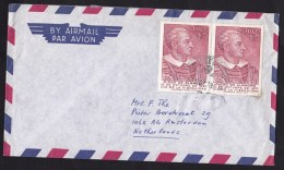 Chile: Airmail Cover To Netherlands, 1978, 2 Stamps, Diego De Almagro (traces Of Use) - Chili