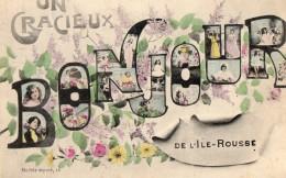 Un Gracieux Bonjour De L'ile Rousse - France