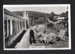 SENIOR SERVICE CIGARETTES - BRITISH RAILWAYS (1938) - CAMPING COACH  19/48 - Cigarettes