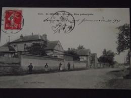EVREUX (Eure) - St-MICHEL - Rue PRINCIPALE - Animée - Voyagée En 1908 - Evreux