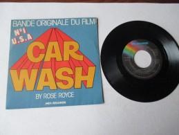 ROSE  ROYCE   ---   Bande Originale Du Film   CAR  WASH  //  PUT YOUR MONEY WHERE YOUR MOUTH IS    ---   2 Photos - Filmmusik