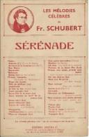 Partition SERENADE De F. SCHUBERT - Klassik