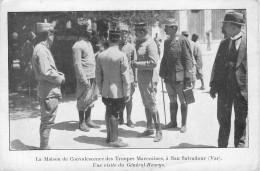 San Salvadour : Maison De Convalescence Des Troupes Marocaines  Lot De 4 Cartes - Frankrijk