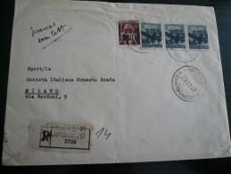 Manoscritti Con Lettera -Trieste AMG-FTT  29.11.47 A Milano Timbro Al Verso - 7. Trieste