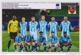 FOOTBALL PHOTO  EQUIPE  DU GAZELEC  AJAJCCIO  2015/16 - Voetbal