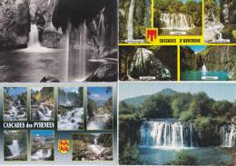 LOT De 60 CPSM, CPM Françaises Sur Des Cascades D´ Eaux Toutes Localisées //  TBE - Cartes Postales