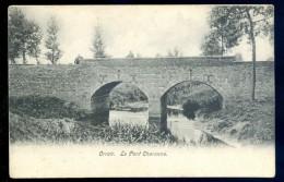 Cpa De Belgique Orroir  -- Le Pont Charonne   LIOB34 - Mont-de-l'Enclus