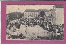 52.- BOURBONNE-LES-BAINS .- Place De La Mairie Le Marché - Bourbonne Les Bains