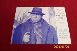 Maigret Et L'affaire Saint Fiacre  Avec Jean Gabin - Affiches
