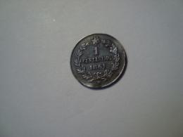 MONNAIE ITALIE 1 CENTESIMO 1861 - 1861-1946 : Reino