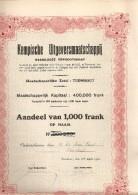 Kempische Uitgeversmaatschappij - Turnhout - Actions & Titres