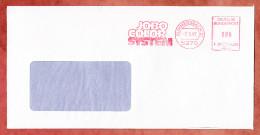 Brief, Francotyp-Postalia F20-4603, Jobo Color System, 80 Pfg, Gummersbach 1987 (29239) - [7] République Fédérale