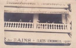 LES SABLES D'OLONNE - CAFE DES BAINS ET DU PIERROT.  CP TRES RARE. R. AMIAUD - Sables D'Olonne