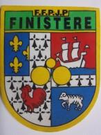 Ecusson Tissu - FINISTERE - FFPJP - PETANQUE - Blason - Armoiries - Pétanque