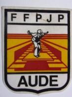 Ecusson Tissu - AUDE - FFPJP - PETANQUE - Département 11 - Pétanque