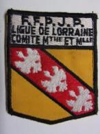 Ecusson Tissu - FFPJP - PETANQUE - Ligue De LORRAINE - Comité De Meurthe-et-Moselle - Blason - Armoiries - Pétanque