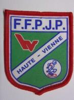 Ecusson Tissu - HAUTE-VIENNE - FFPJP - PETANQUE - Département 87 - Pétanque
