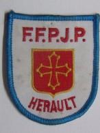 Ecusson Tissu - HERAULT - FFPJP - PETANQUE - Département 34 - Pétanque