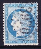 FRANCE CERES 1871 YT N° 60A Obl. TYPE I LOSANGE GC 3970 TONNEINS - 1871-1875 Ceres