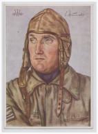 Dt.- Reich (A1708) Propagandakarte Aus Der Serie Unsere Luftwaffe Oberleutnant Schumacher, Willrich Karte, Ungebraucht - Germany