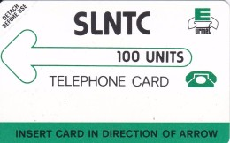 TARJETA DE SIERRA LEONA DE 100 UNITS URMET (SLNTC) NUEVA-MINT