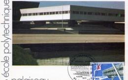 Carte 1er Jour + TIMBRE - 91 Palaiseau - école Polytechnique 1977 - Palaiseau