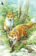 FOX RENARD FUCHS VOS Telecarte (336) - Oerwoud