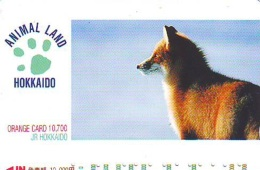 FOX RENARD FUCHS VOS Carte Prepayee (345) - Oerwoud